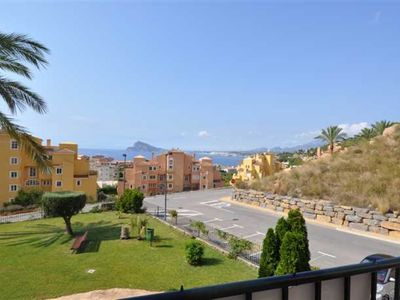 Photo for Cozy apartment with spectacular views in Mascarat / Calpe