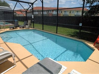 Photo for 4 Bed Disney/Orlando Pool Home with Gorgeous Water View!