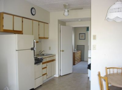 Kitchen area which is fully stocked for your cooking needs!