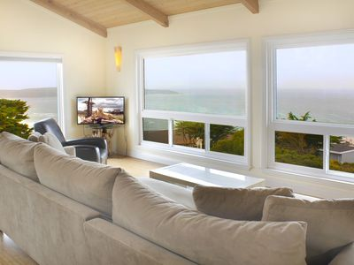Photo for Sea Haven, single level contemporary home overlooking the Pacific Ocean