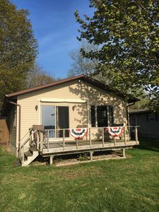 Immaculate Home right on Beautiful Hubbard Lake.
