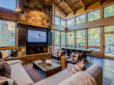 Photo for Forest Road, On Gore Greek, Outdoor Fireplace & Hot Tub, Mountain Views
