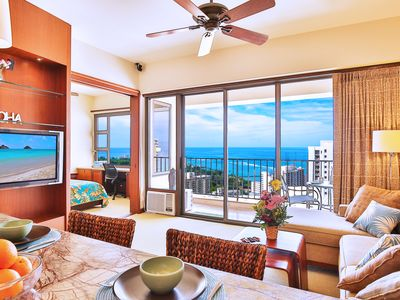 Photo for Luxury Penthouse with Fantastic Ocean Views | 1 Block to Beach | Parking