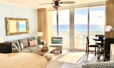 Photo for Newly Remodeled! STUNNING! DIRECT BeachFront Waters Edge 514!