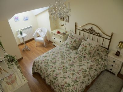Photo for COZY ATTIC WITH FIREPLACE, WIFI FIBER AND SOLARIUM IN JACA.