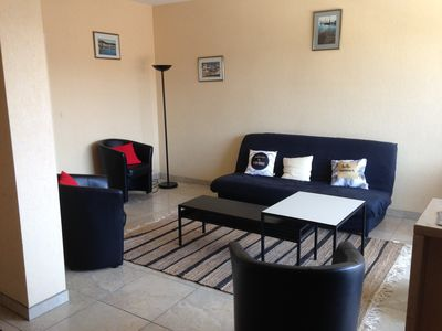 Photo for Downtown, double stay south, 600 m central beach, classified ***