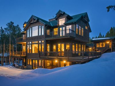 Photo for Voted Best Luxury Lodge. Ski In and Out on Peak 8. Epic Collection.