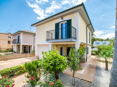 Photo for Playa de Muro Holiday Home, Sleeps 5 with Air Con and Free WiFi