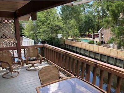 Deck by Water Upstairs