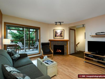 Photo for 71 Glaciers Reach this 2br home has a hot tub & pool in Whistler Village