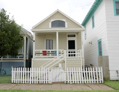 Photo for Refuge By the Sea!! Pet friendly fenced yard a short walk from the beach.