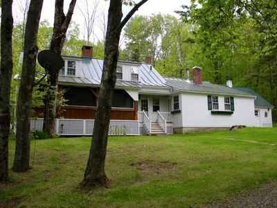 Historic Butternut Cottage - Home of actress Bette Davis in Sugar Hill, NH