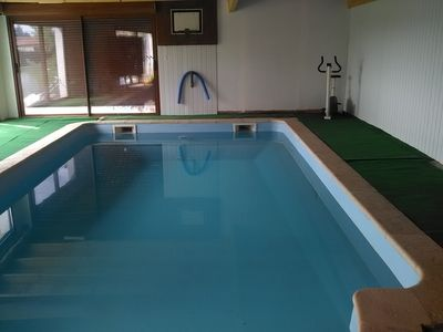 Photo for Large Country House with Private Own Use Heated Indoor Swimming Pool.