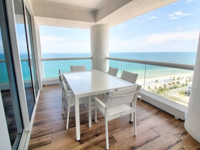 Photo for Ft Lauderdale Beach 2005 | Two Bedroom | Intracoastal View + Island Kitchen