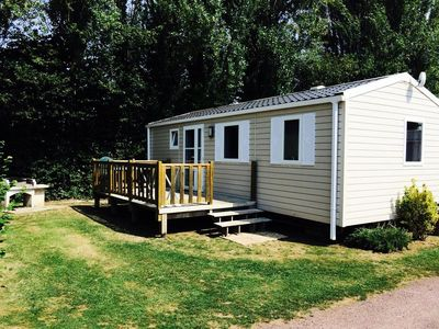 Photo for Camping Le Rivage **** - Cottage Grand Confort 3 Rooms 4 People