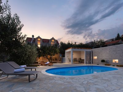 Photo for Villa Alinica Dvori / pool / serenity / BRAND NEW