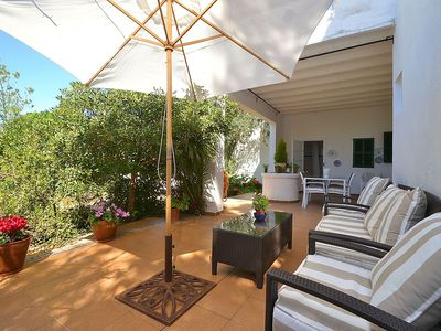Photo for Quaint Holiday Home in Arta with Fireplace 100 metres from sea