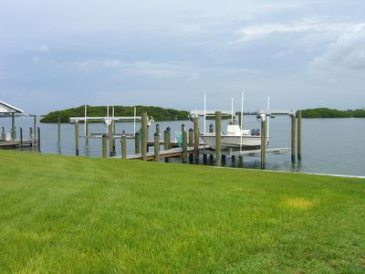 Rear dock on designated Outstanding Florida Waterway