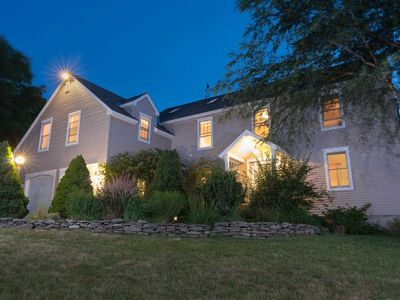 Photo for Strawberry Villa - extra-large, elegant and private in Bar Harbor