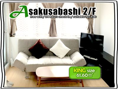 Photo for 2/FAsakusabashi BLDG  for 6-9 ppl