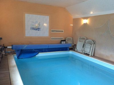Photo for Villa of 2015 covered and heated swimming pool sea view impregnable