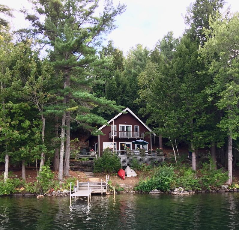 Rust Pond Wolfeboro Nh Lakefront Chalet Beautiful