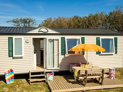 Photo for Camping Le Palavas ***** - Mobile home Relax Air Conditioned 4 Rooms 6 People