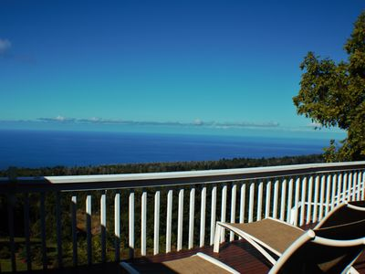 Photo for Spectacular Ocean View Kona Farmhouse!