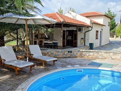 Photo for Villa Neto is a wonderful villa located on the small paradise island of Alonissos. Its two bedrooms