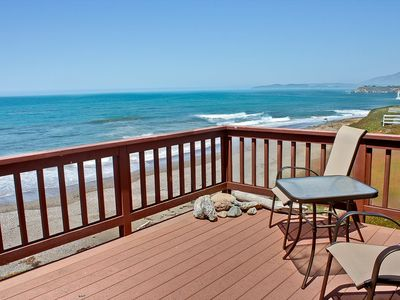 Photo for Striking Oceanfront- The sand at your feet!