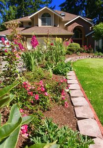 Photo for Sare's Rose Garden-Beautiful Serene Setting-Mgr. Abigail's Vacation Rentals