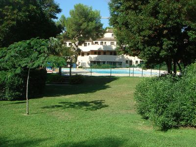 Photo for F2 of 54m2 for 4 people in residence with swimming pool at 200m from the beach.