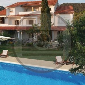 Photo for Holiday apartment with pool, with a beautiful garden and terrace