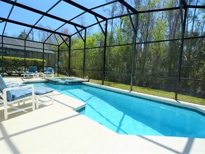 Photo for Disney On Budget - Cumbrian Lakes - Feature Packed Spacious 5 Beds 4.5 Baths  Pool Villa - 7 Miles To Disney