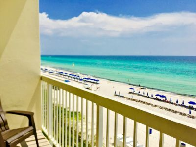 Photo for 406 Celadon 1 Bedroom with  KING BED and 2 Baths with FREE BEACH SERVICE!