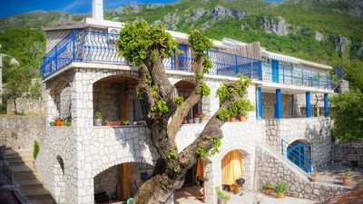 Photo for Traditional Adriatic Stone House with awesome views and Wi-Fi