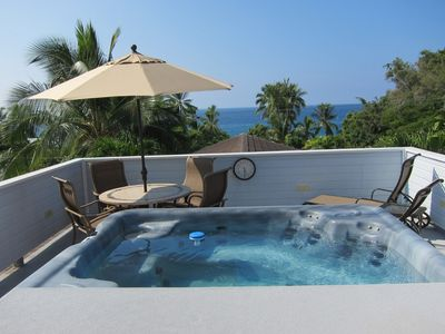 Photo for Private Home on Kona's Alii Drive with Roofop Hot Tub!!