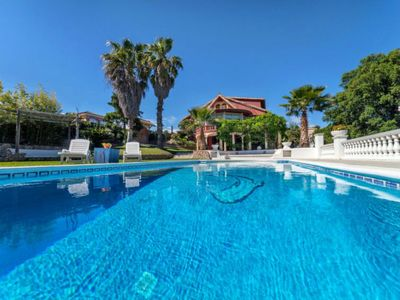 Photo for Splendid villa with a fabulous private pool of 50 m2 near the beach