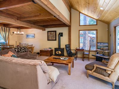 Photo for Tahoe Donner Cabin w/Resort Amenities, Kid And Dog Friendly