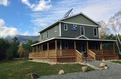 Photo for Whiteface Mountain Chalet: Luxury, Hot Tub, Dog Friendly, 1.4 miles to Whiteface, Mountain Views, Sleeps 16, Sauna, & Fireplace