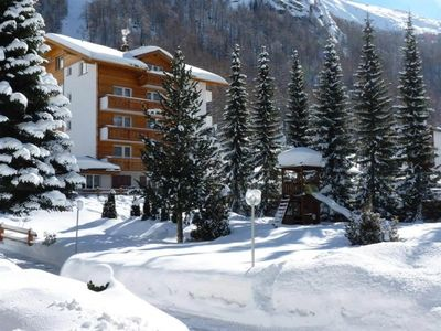 Photo for One bedroom Apartment, sleeps 7 in Saas-Almagell with WiFi