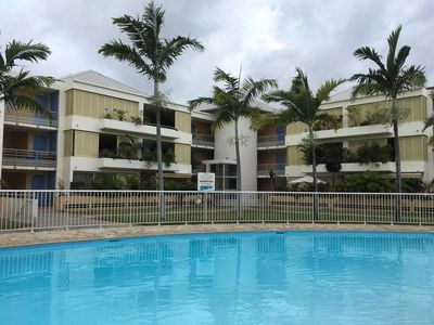 Photo for Beautiful F2 fully furnished and air conditioned in a luxury building, with swimming pool