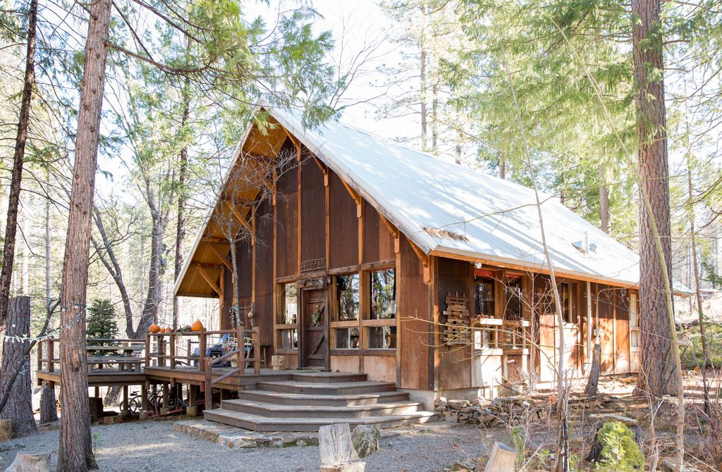 cabin in rentals is new home specials cabins retreat ready to rustic vacation yosemite the redwoods dsc log