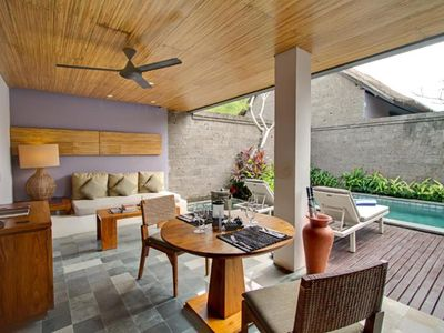 Photo for Romantic Villa in Umalas, Secluded Area, 15 Mins Drive to Eat Street Seminyak