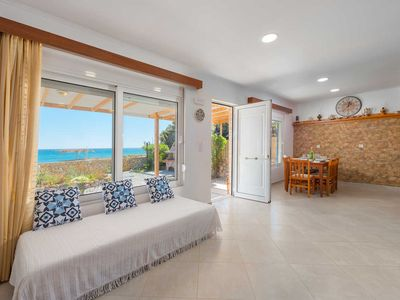 Photo for Beach House with Sea Views - The Rhodes South Escape