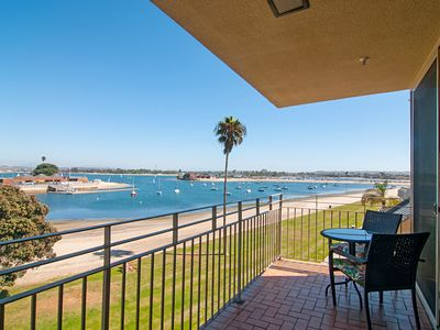 Photo for Top-Floor 2BR Beach Condo w/ Exceptional Mission Bay Views & Central Location