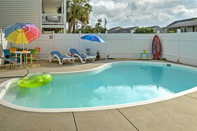 This 5-bedroom, 5.5-bath Myrtle Beach vacation rental is the perfect SC retreat.