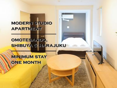 Photo for Modern Cozy Apartment in Jingumae/2F 202
