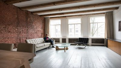 Photo for Luxury Amsterdam Canal apartment - 1600 Century features