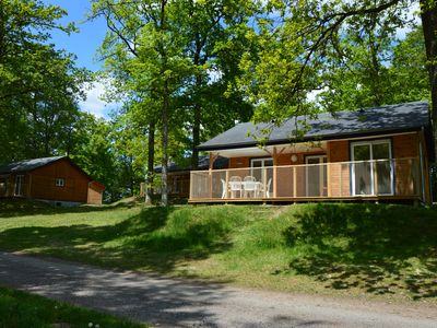 Photo for Chalet 70 m² exceptional nature in the heart of Corrèze, Dordogne